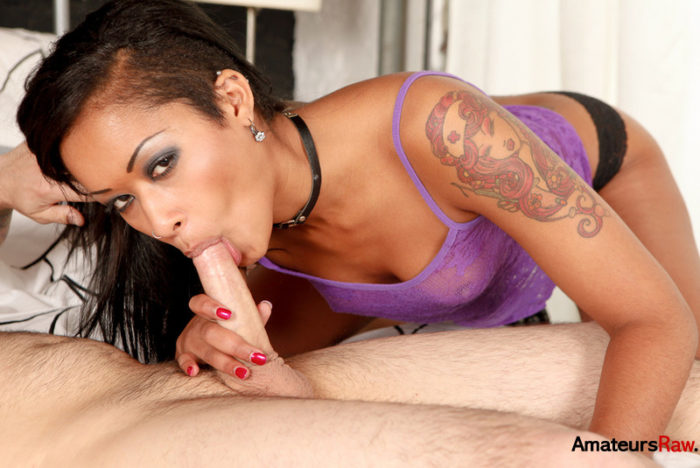 Skin Diamond Sucking His Dick