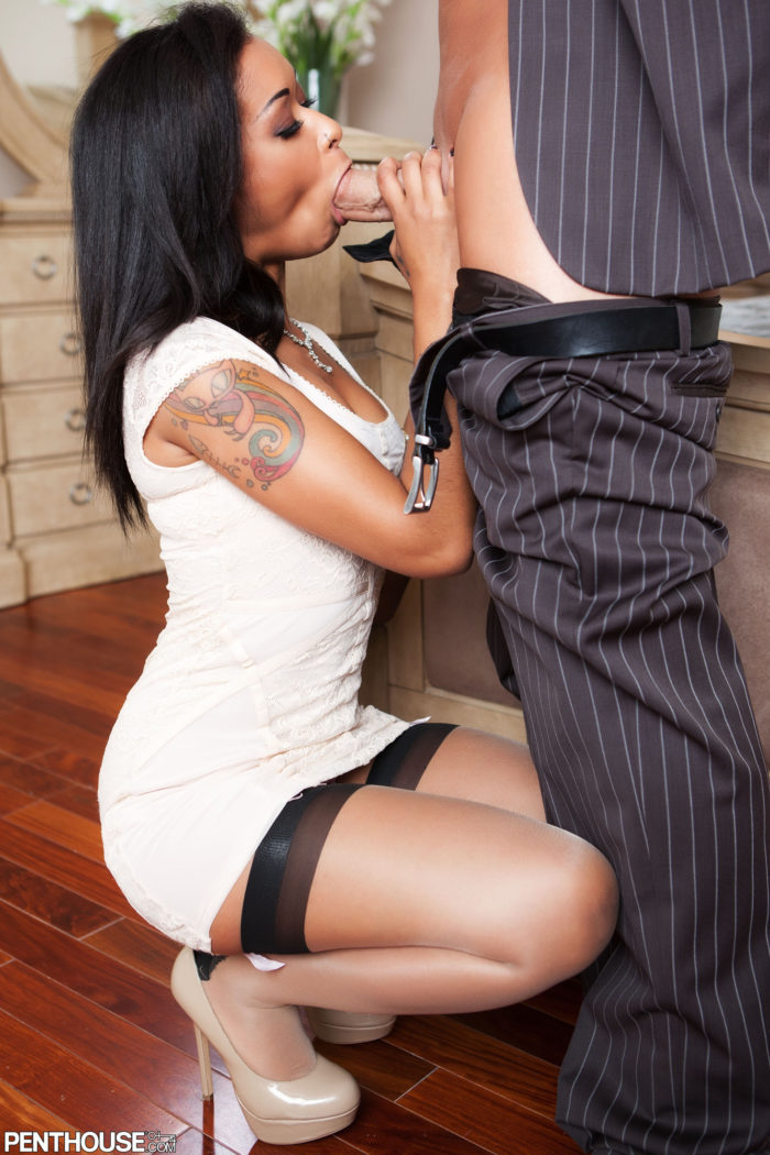 Skin Diamond Dick Sucking